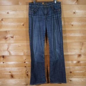 Kut From the Kloth Boot Cut Faded Wash Jeans